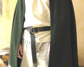 Medieval Celtic Viking Knight Elven Cloak