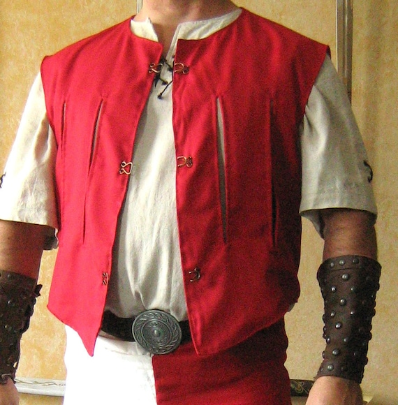 Medieval Sleeveless Empire State Troops JustauCorps Doublet