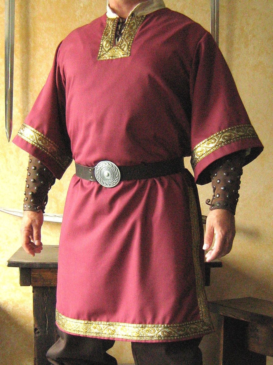 Medieval Celtic Viking Mid Arms Sleeves By Morganascollection