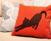 Cat Pillow cover, decorative pillow, throw pillow, home decor, cat cushion, cat lover cushion, cat lover pillow, dorm pillow, cushions