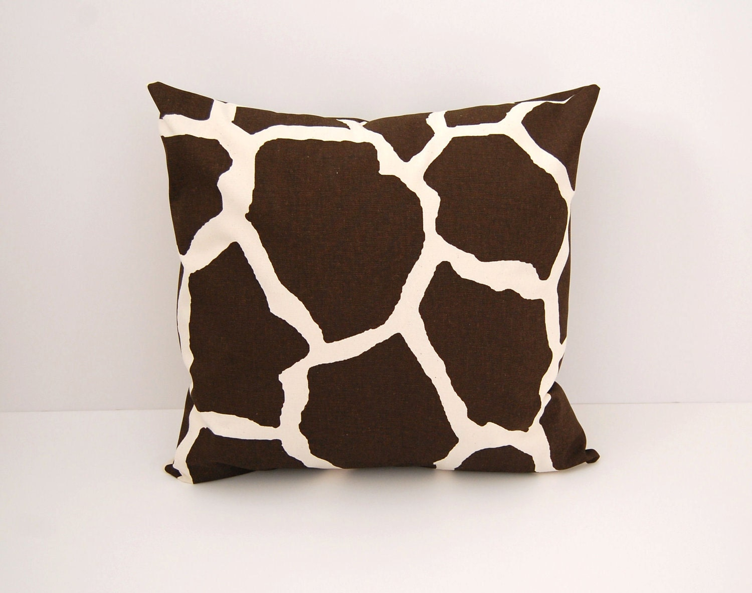 Throw Pillows In Clearance : Clearance Decorative pillow cover brown giraffe choose