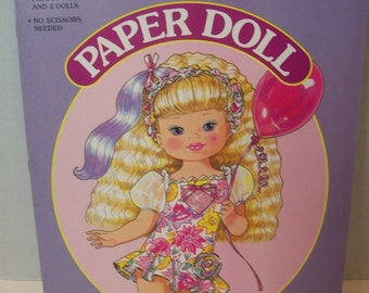 Lil Miss 'n Me paper doll book Golden 1503  1990  isbn0307015033    no 1