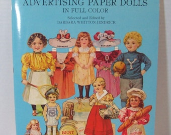 Vintage paper doll reproduction from 1981 Antique Advertising Paper Dolls (my second copy)