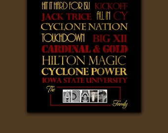 Iowa State Cyclones: Print or Canvas