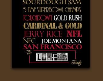 San Francisco 49ers: Print or Canvas