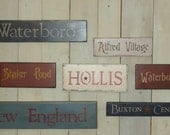Signboards - Your Town or Name