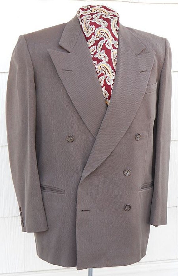 Reserved for Charlie: 1940s sports coat