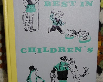 Vintage Book - Children's Book, Best in Children's Books, Volume 30, Nelson Doubleday Inc. 1960, First Edition