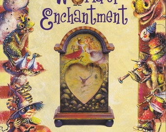 Painting a World of Enchantment - Book by Bobbie Takashima - Painting Ghosts, Elves, Faeries - Patterns and Tutorials