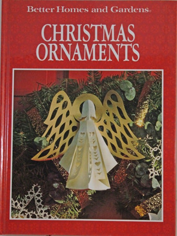 Handmade Christmas Ornaments Patterns - Book - Better Homes and Gardens