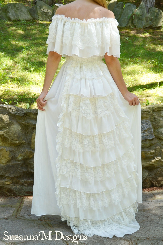 Wedding Clothing Bridal Gowns Separates Lace Ivory Wedding