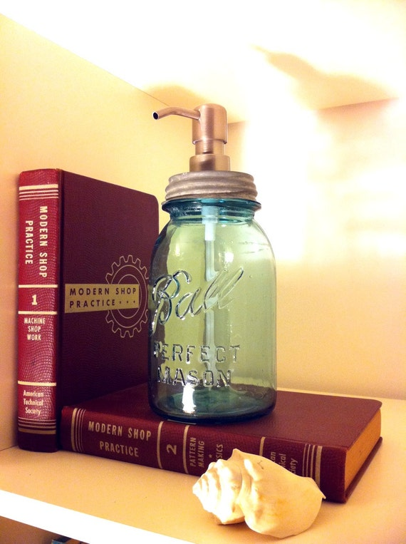 Mason Jar Soap Dispenser Quart