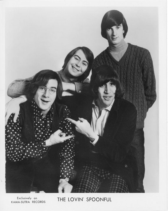 The Lovin' Spoonful Publicity Photo     8 by 10 inches