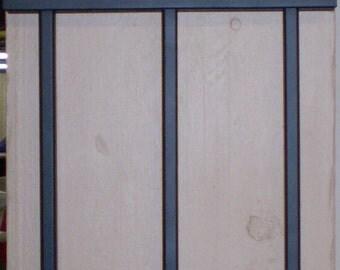 Ornamental Wall Gate -- Fleur-de-lis French Design Wall Decor Garden Gate -- Florals - Greenery --Custom Made In USA