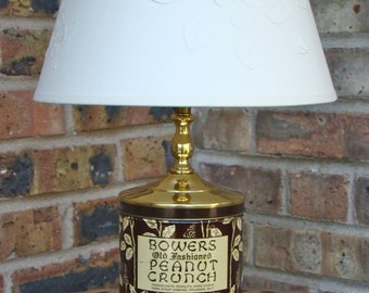 Bowers Old Fashioned Peanut Crunch Lamp