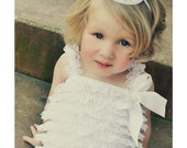 Toddler lace crown, Flower girl crown, photography prop. Comes on a headband