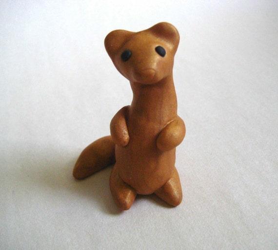 Weasel Figurine