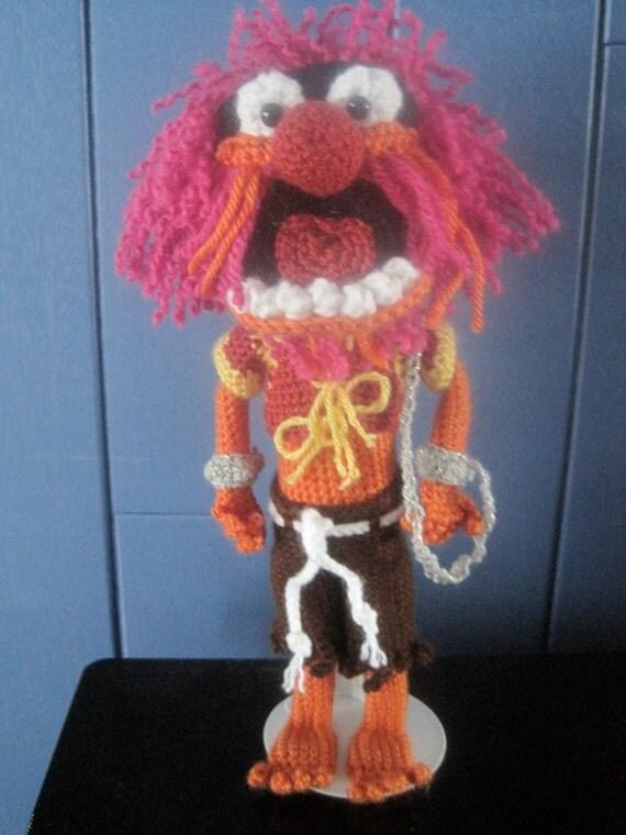 Animal Muppet Crochet Pattern - Amigurumi