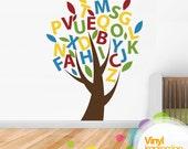 ABC Tree Vinyl best Wall Sticker