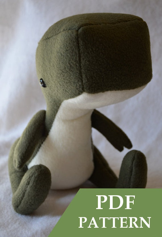 Dinosaur Plush Pattern