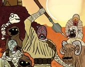 Tusken Raiders of the Lost Ar'rk Poster