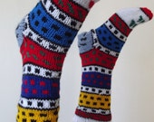 adorable feet,LAIDES BOOTEE...Stocking.. IDEAS...long sock....Women Adult Slippers knitting pattern