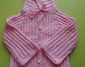 Knitting Pattern Baby Cardigan For  1-2 years old and   A  ANTIBACTERIAL