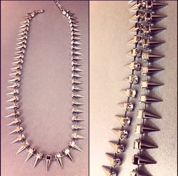 Silver Diamonds & Spikes Collection