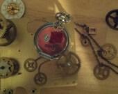 Memories Necklace. OOAK Custom Jewelry