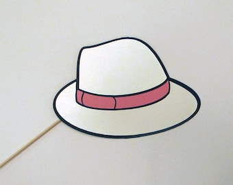 Fedora Photo Booth Prop