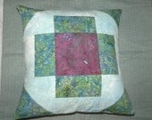 Turtle Pool Pillow Cover with Tiny Carp Charm