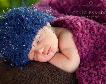 75% OFF Navy Blue Baby Hat Newborn Baby Boy Hat Newborn Baby Hat Wispy Baby Beanie Navy Blue Fun Photo Prop Baby Boy Clothes Baby Boy Gift