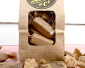 VEGAN Organic Salted Caramels, 7oz Bag