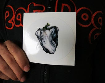 Ween White Pepper Oblong Series High Quality Vinyl Sticker