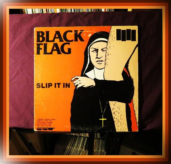 """Black Flag """"Slip it In"""" / Vinyl Record / LP / 1984"""