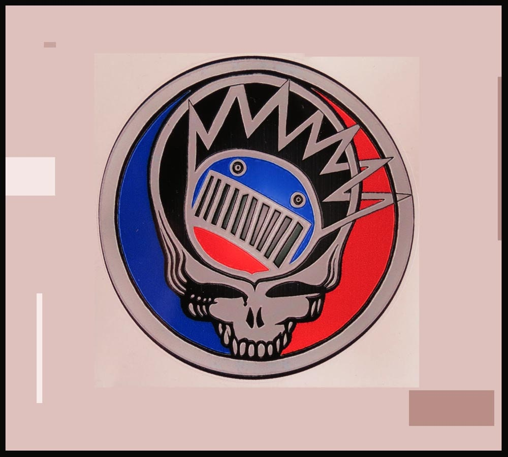 Steal Your Boognish Grateful Dead Ween Red Grey Blue
