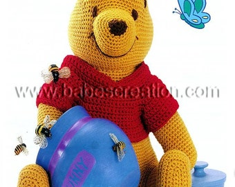 Winnie The Pooh Knitting Patterns Free : Unique pooh pattern related items Etsy