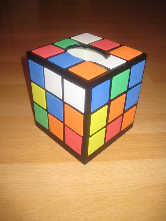Rubix Cube Tissue Box