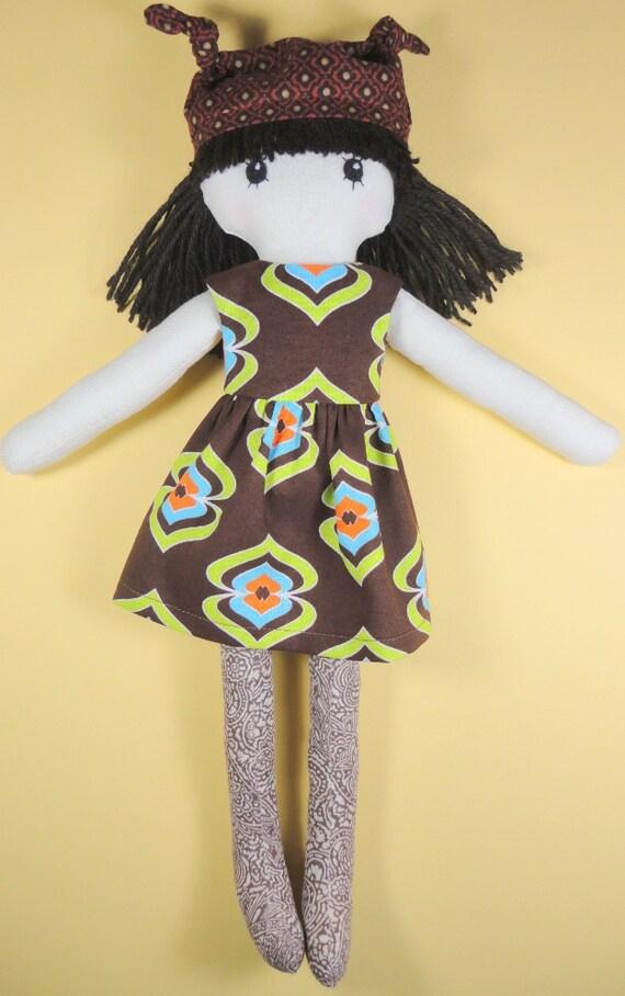 Rag doll - fun retro fashions