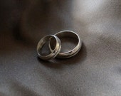 silver rings wedding band sterling simple modern band ring wedding gift wedding gift