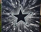 Dallas Cowboys fine art by Summo