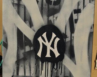 Ny Yankees Graffiti fine art by Summo