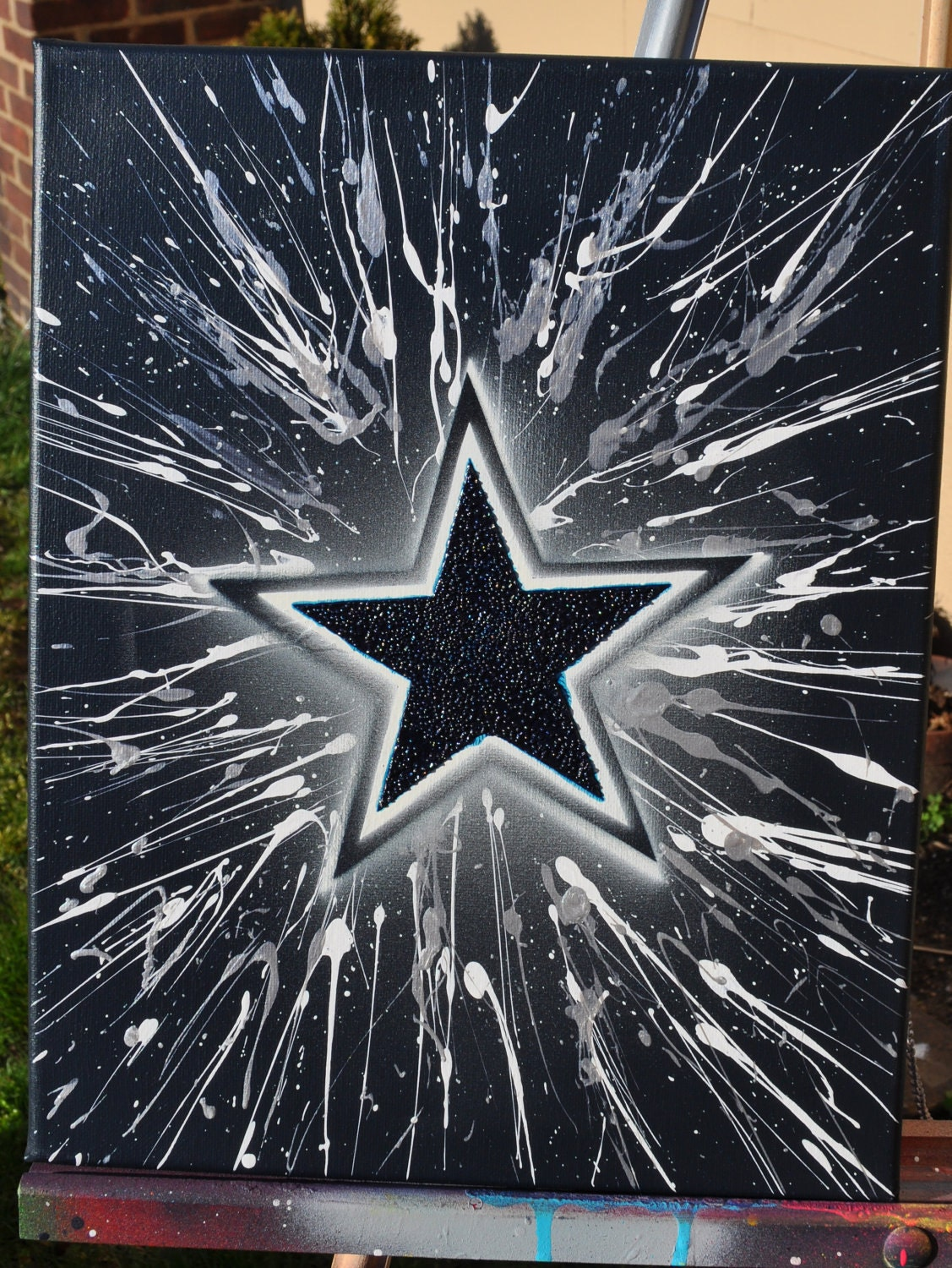 Dallas cowboys fine art by summo for Dallas cowboys arts and crafts