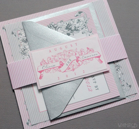 Custom Listing for Michele - Vintage Scrolls Wedding Suites