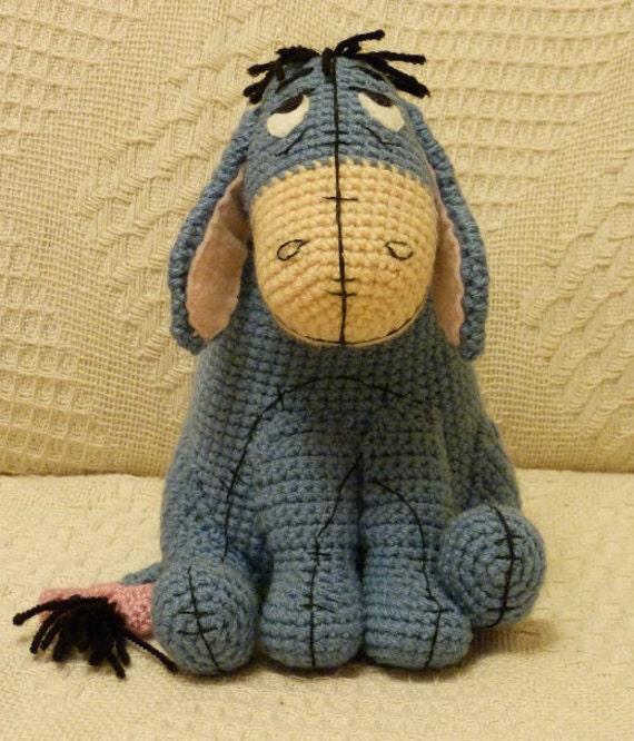 Items similar to Eeyore Crochet Pattern on Etsy