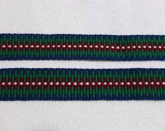 "Piers -  Hand Woven Inkle Trim (7/8"" wide)"