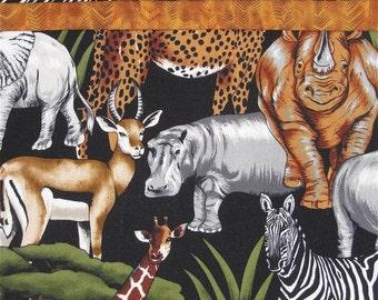 Safari Animals Pillowcase