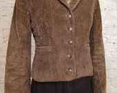 60s Evan Picone Green Corduroy Jacket