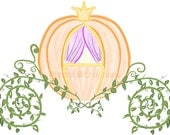INSTANT DOWNLOAD - Cinderella's Pumpkin Coach Digital Clip Art - For Personal or Commercial Use