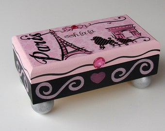 Ooh La La Paris Treasure Box